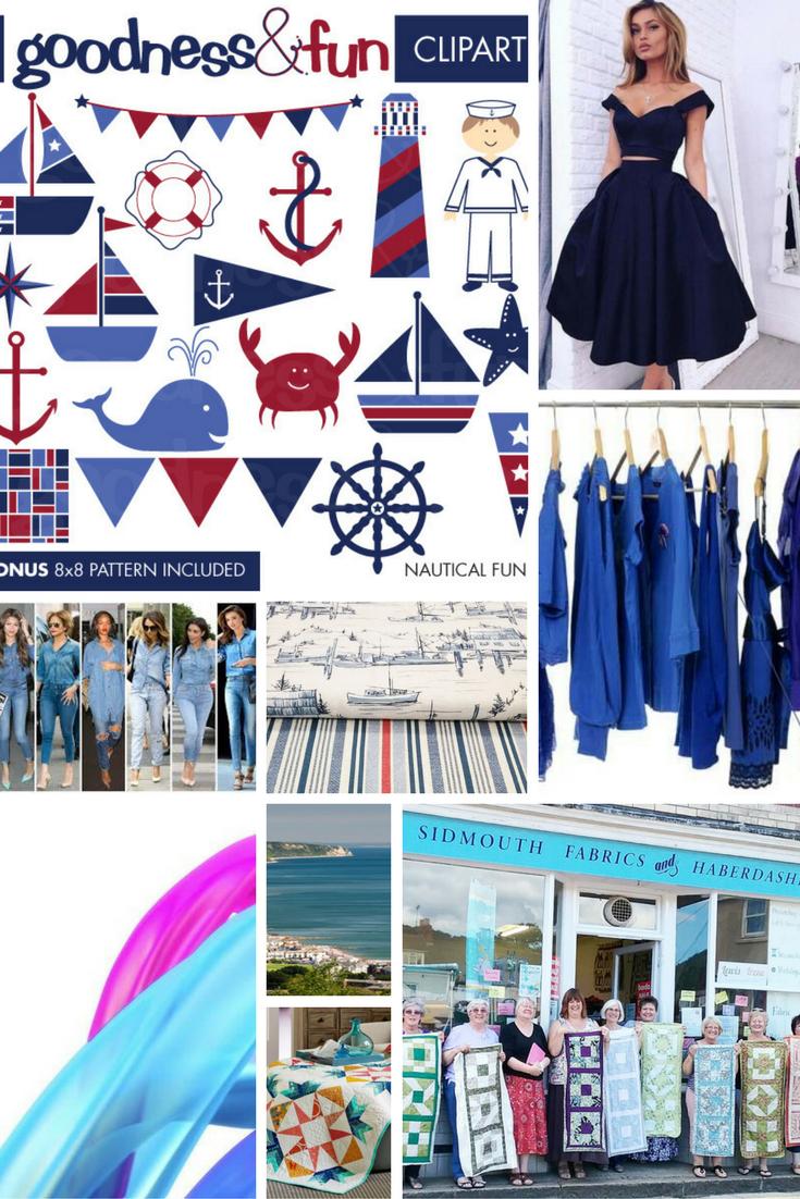 moodboard - sidmouth fabrics