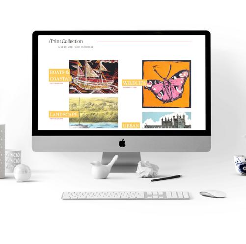 alison savic website design