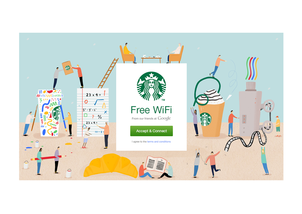 Google Creative Lab- Starbucks