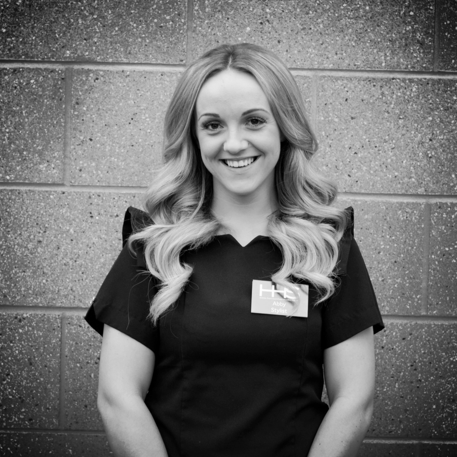 Hi, my name is Abby and I'm a Hair - Up Specialist at Harrison Hair Studio. My career began in 2010 and since starting HHS in November 2013 I've been given some amazing opportunities. I love all areas of - CONTINUE