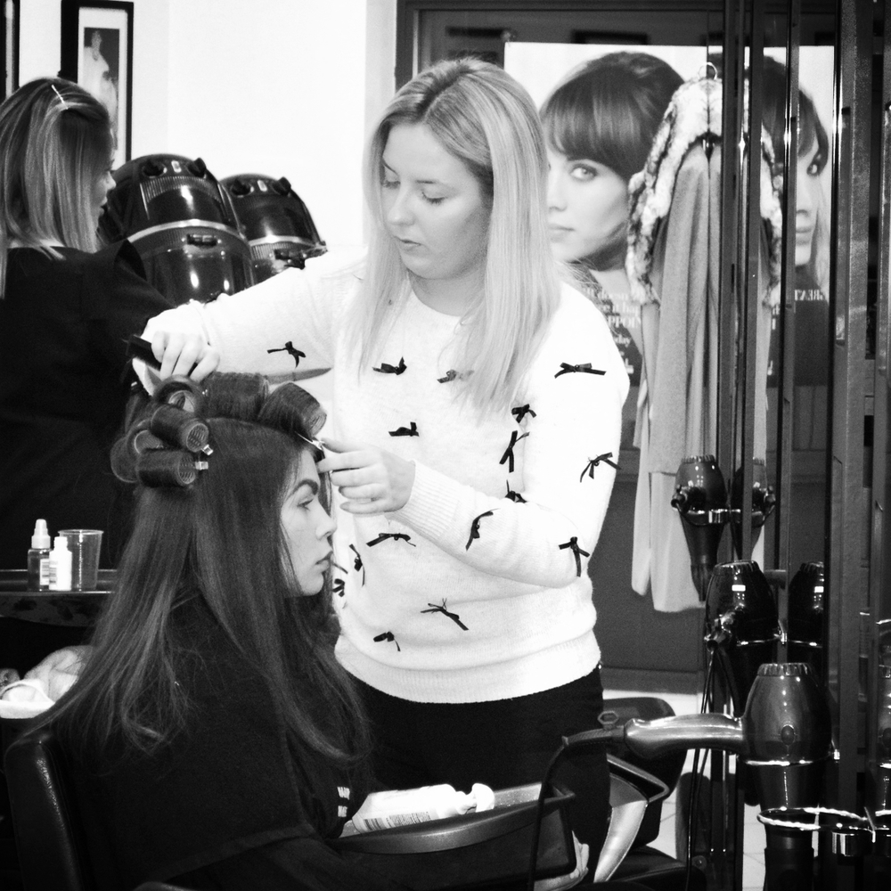 Hi, my name is Natalie and i'm a Stylist at Harrison Hair Studio. I started working in Harrison Hair Studio in May 2012 as a Saturday girl whilstI was still in school finishing my GCSE's. The following year I dida 'Creative hair & media Make up' course at Hugh Baird college, gaining level 2. I then got a full time assistant position at HHS,decided to put all my effort into hairdressing &late in 2012 I got on an apprentice course at Andrew Collinge. Training was really tough,I worked really hard at the technical side of hairdressing including colouring and cutting but thoroughly enjoyed it at the same time. Mid 2015 it all become worth it when I passed all my courses and then passed my 'high pressured' trade test with all top grades at HHS...I haven't looked back since. I'm looking at entering some 'young hairdressing awards' in the near future so watch this space! I have a real passion for hair colour and love the feeling of sending clients out of the salon looking amazing with their new hair. One day I hope to be as good as Tanya or even better and competing in all the top hairdressing competitions like the L'Oreal Colour Trophy!