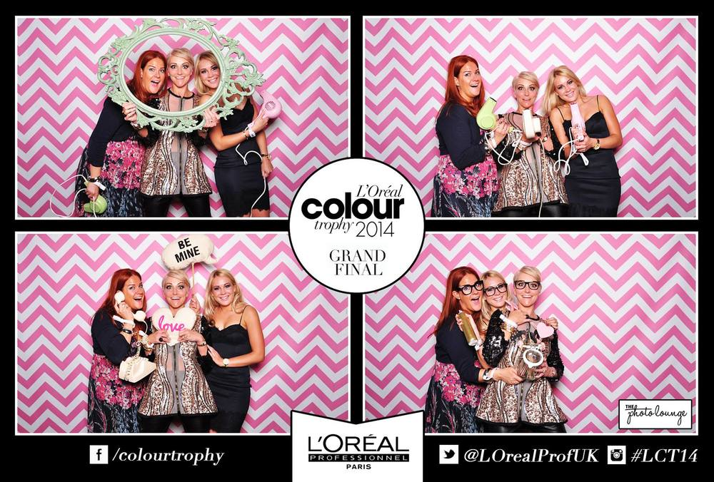 Faye, Tanya & Mia making the most of their night out in London! #LCT14