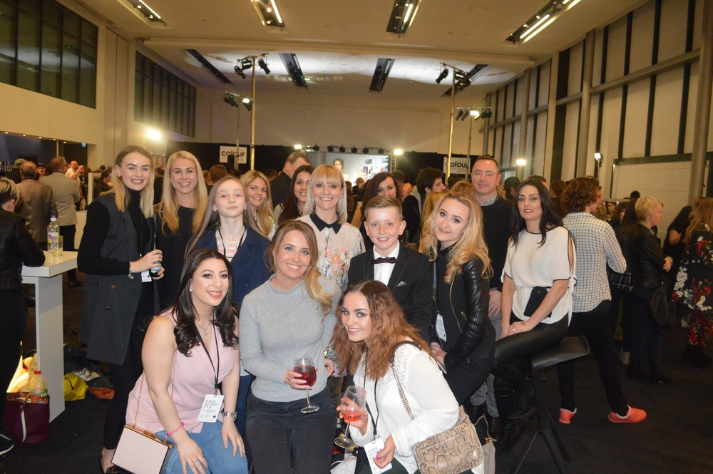Liverpool's best hair salon team at the North West L'Oreal Colour Trophy Awards 2016