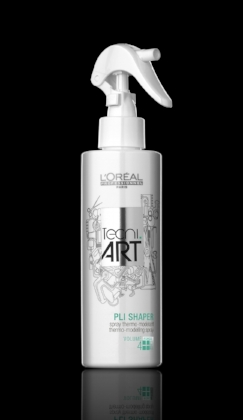 Pli - What They Say: Thermo-modelling spray. Volume range, force level 4. Suitable for thick hair, shape fix, grip and hold, perfect for bouncy curls and wavy hairstyles, volume finish, help with root lift.What We Think: Pli is a complete holy grail product here at HHS, as we can firmly say we couldn't do what we do without it! It's a hit with stylists and clients, because it does absolutely everything - it's heat activated so it works wonders in a blow dry, it gives volume, it lifts roots, it holds EVERY style we do, we can't fault it! It sounds like we're just listing L'Oreal's qualities for Pli, but it really does do everything they say!