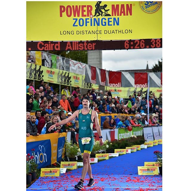 #FBF It was a privilege to wear the @triaustralia suit at @powermanzofingen ...even if it was 2 sizes too small.