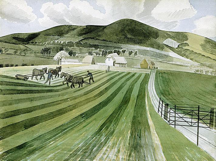 Eric Revelios Mount Caburn 1935