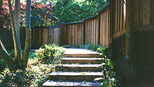 11_Beautiful Kentfield Parklike Fence and Stone Path.jpg