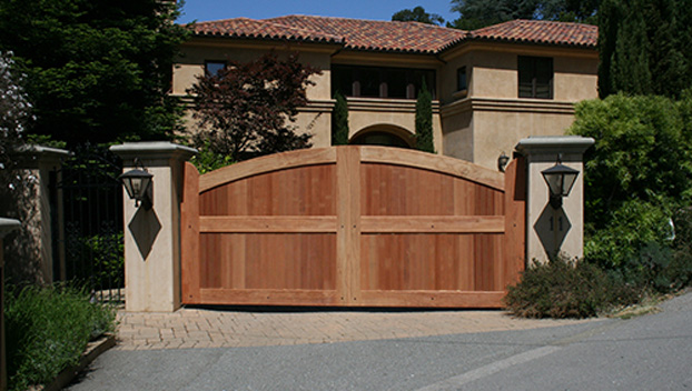 77_Kent Woodlands Estate Custom Arched Gates.jpg