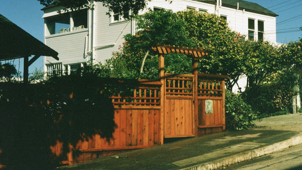 52_Sausalito Decorative Front Fence with Arbored Entry Gate.jpg