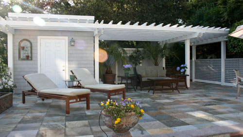 11_stonedeck, arbor, and poolhouse at greenbrae residence.jpg