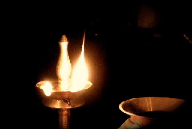 Our annual remembrance in honor of Deepavali/Divali, the HIndu Festival of Lights, which starts all over the world tonight. First cross-posted from contributing editor Asha Rajan's blog in November 2015. photo: Asha Rajan