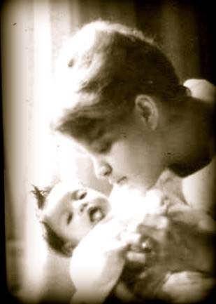 Carmen and Lana, April, 1967