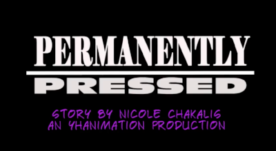 title card from Yvonne Haugen's Permanently Pressed