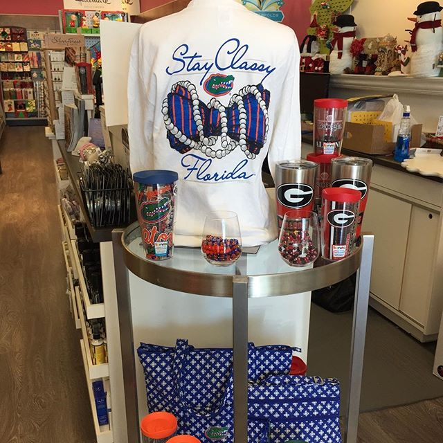 Woot woot! Florida Georgia weekend!!! Come see us at our Riverside/Brooklyn Station store!!! #brooklynstationriverside #gators #georgiabulldogs