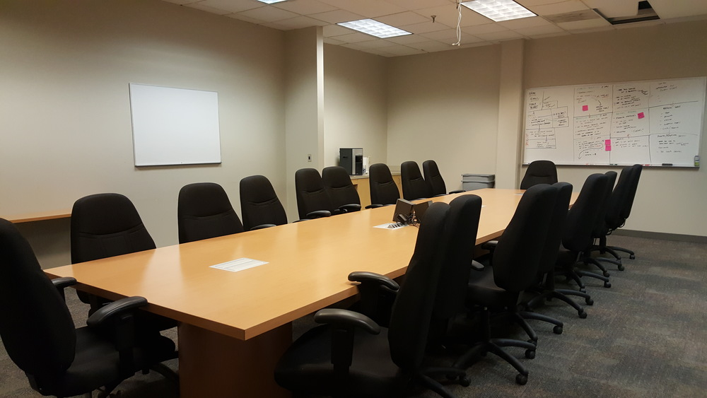 Reserve meeting and training rooms.