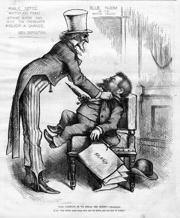 Uncle Sam, as depicted by Thomas Nast.