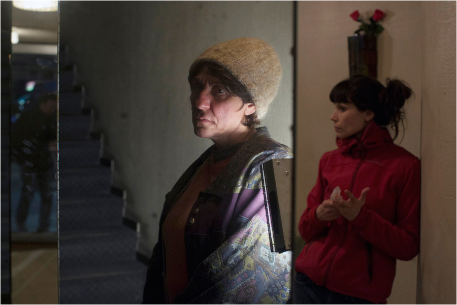 Jacqueline Pluche, extras casting director & Hélène Lhoest, wardrobe