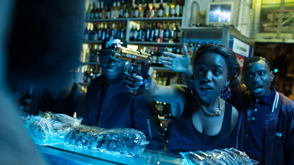 Martha Canga Antonio in BLACK directed by Adil El Arbi & Bilall Fallah - DoP Robrecht Heyvaert - Courtesy A-Team Productions