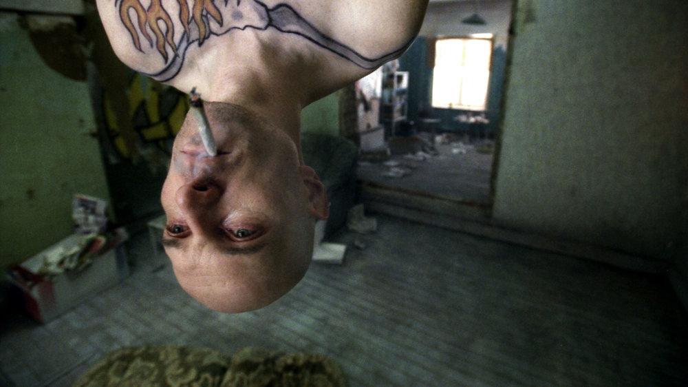 Norman Baert in EX DRUMMER directed by Koen Mortier - DoP Glynn Speeckaert. Courtesy CZAR/CCCP
