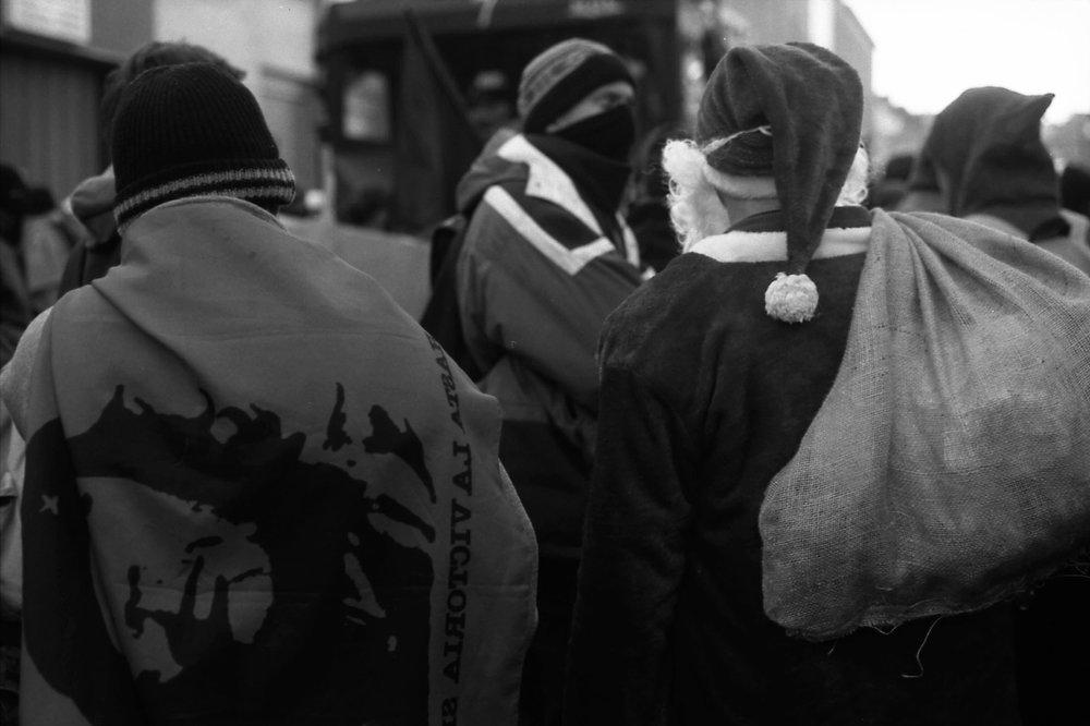 United Santas Against Police Brutality