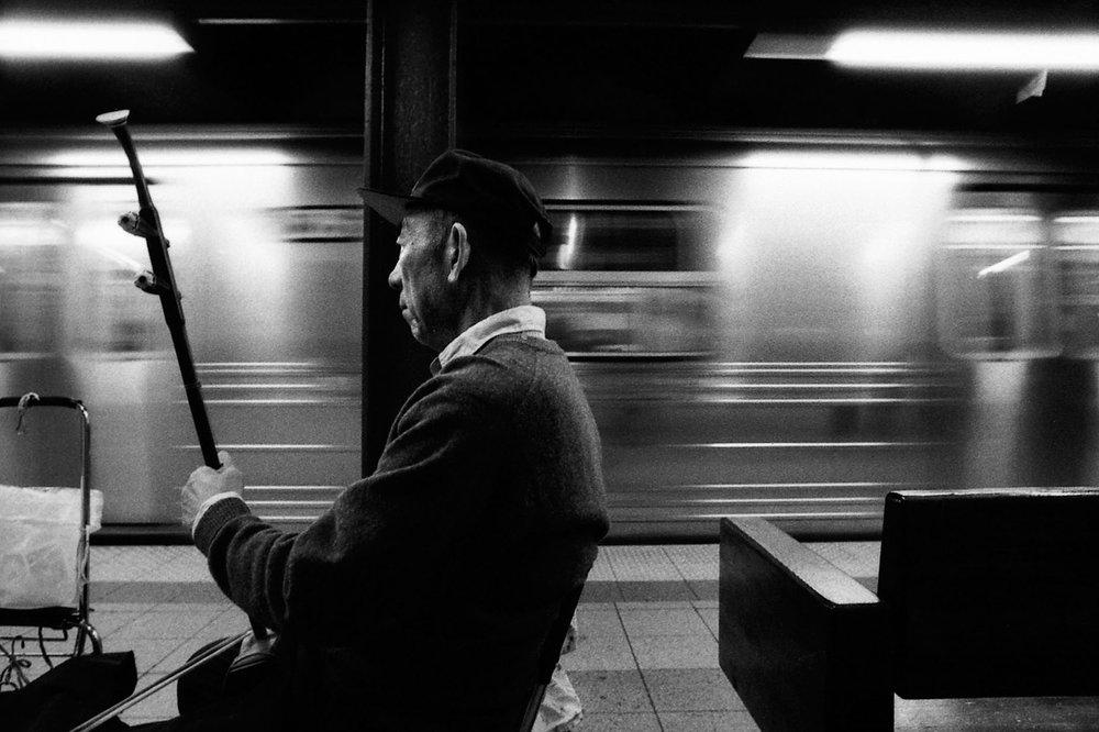 Oriental subway breeze, NYC