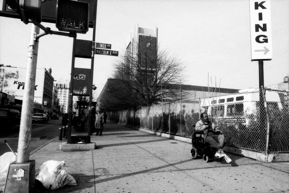 King, 125th and Malcolm X, Harlem