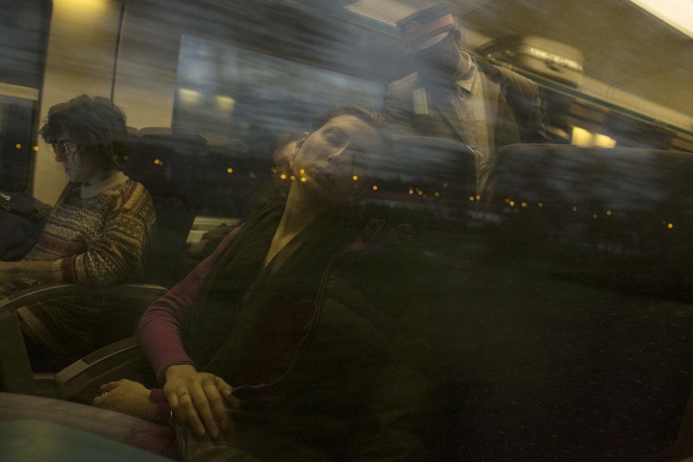 Trainscending