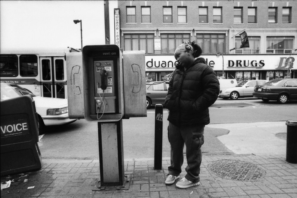 Phone call, Harlem