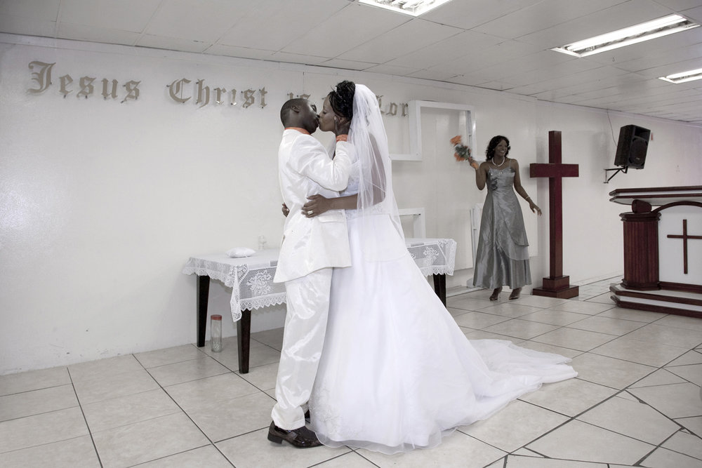 Wedding Kiss, Bloemfontein.