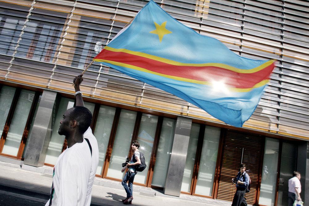 Louis-Richard Lumumba Junior, 50th DRC Independence Day Parade