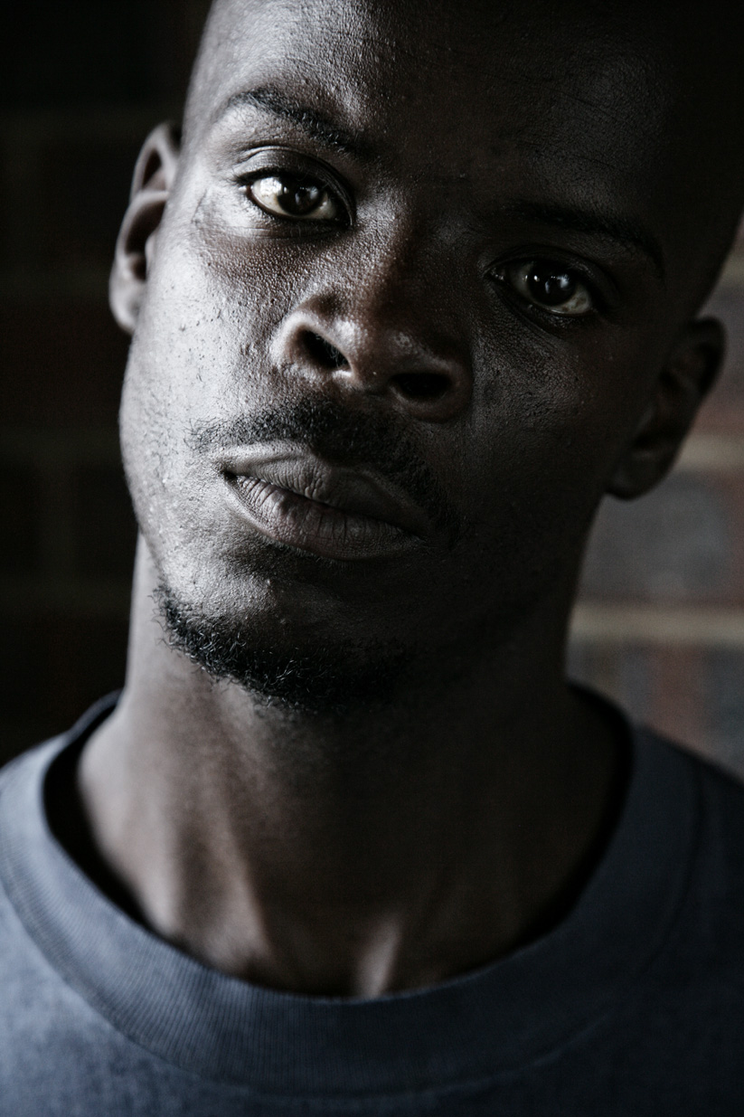 Aaron, dancer, Orlando East/Soweto.