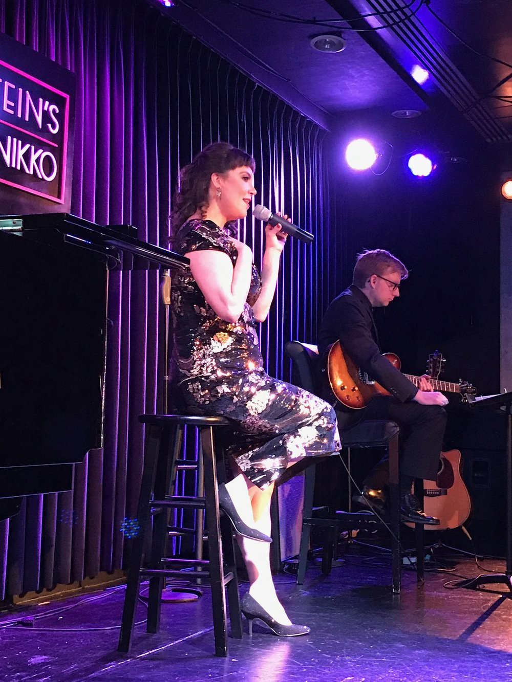 Ariela Morgenstern at Feinstein's