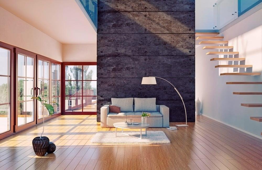 Furnished with Custom Hardwood Floors