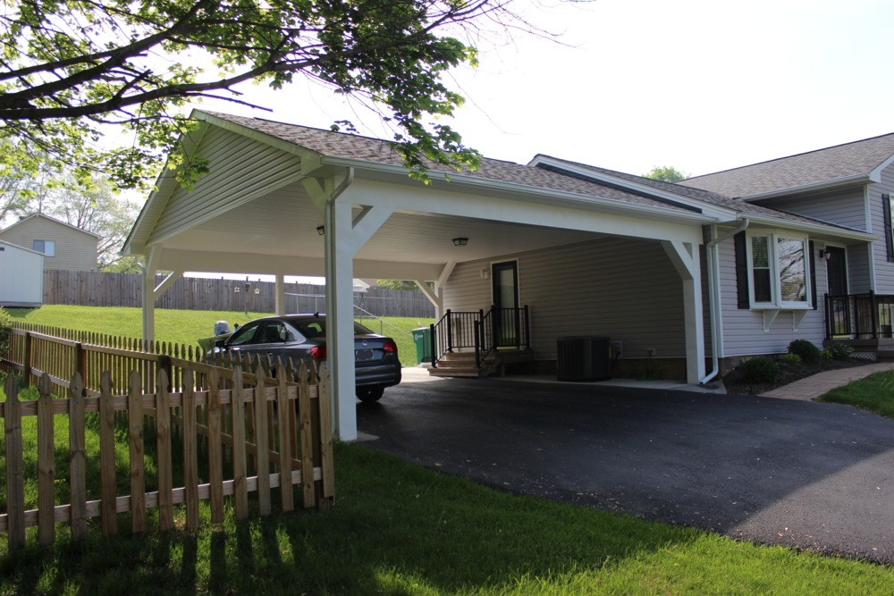 Custom Carports and Utility Buildings | Brame Construction LLC ...
