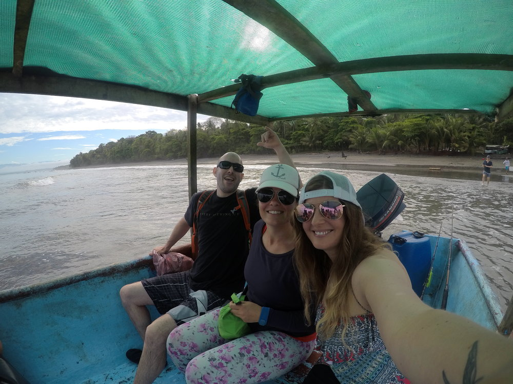 the boat to corcovado