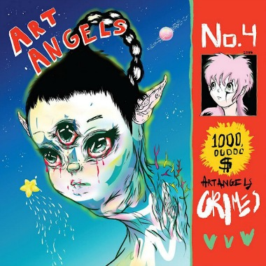 5. Grimes - Art Angels [4AD]