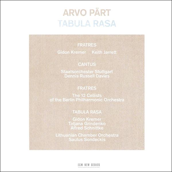 3. Arvo Pärt - Tabula rasa [ECM New Series, 1984]