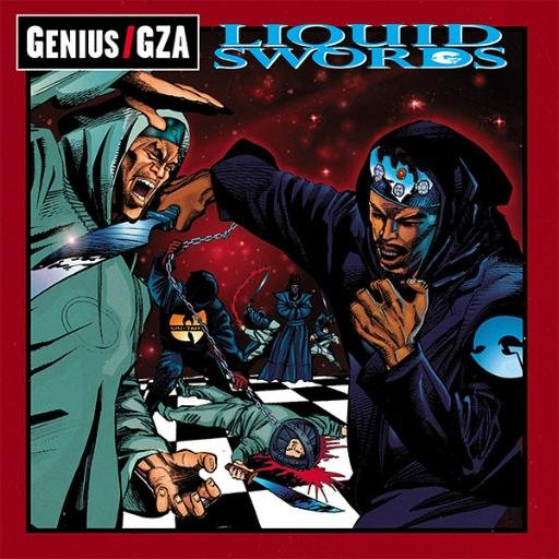 10. Genius/GZA - Liquid Swords [Geffen, 1995]
