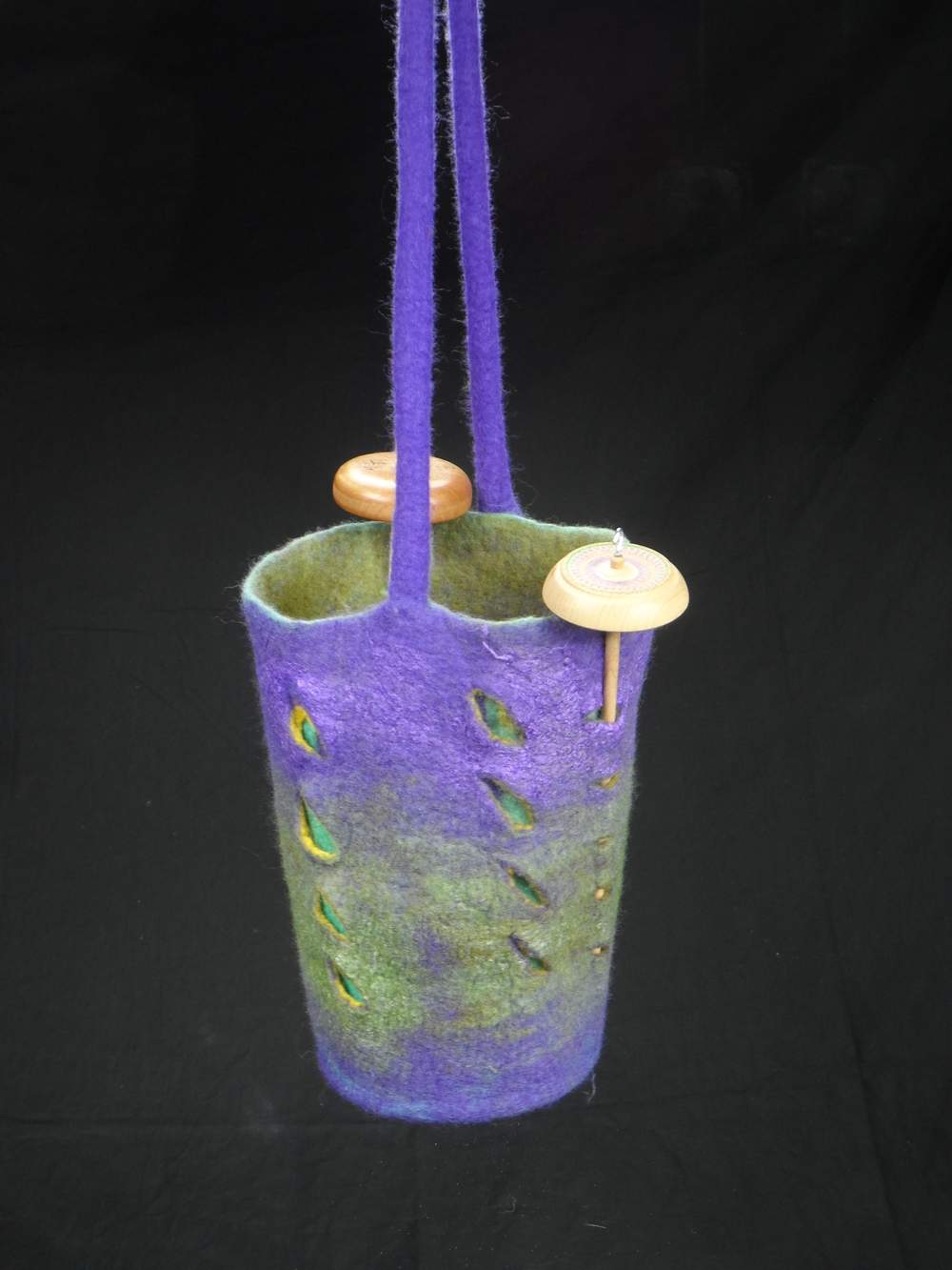 Drop Spindle Bag