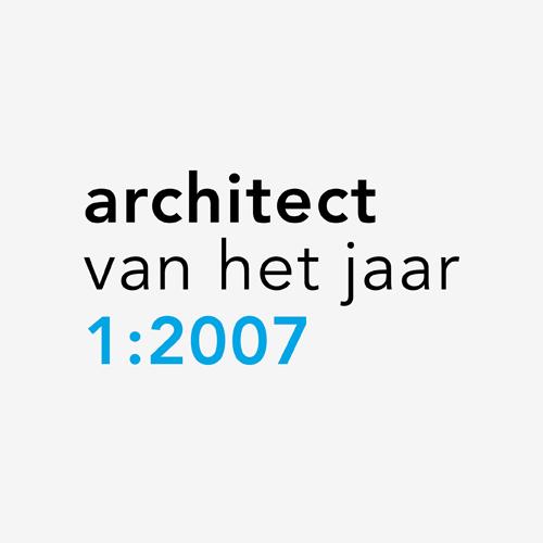 Logo Architect van het Jaar 2007-2011