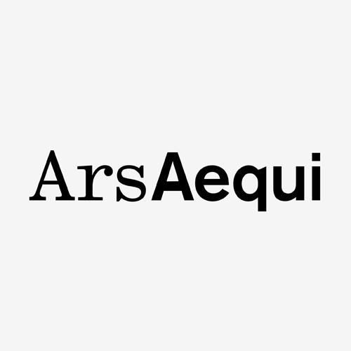Logo Ars Aequi   ontwerp logo: Marloes de Laat en Roel Vaessen
