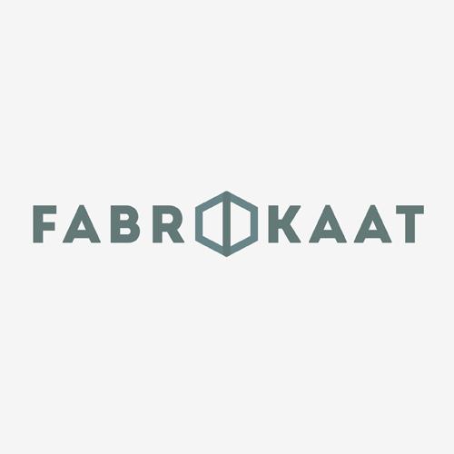 Logo Stichting Fabrikaat   ontwerp logo: Marloes de Laat en Roel Vaessen