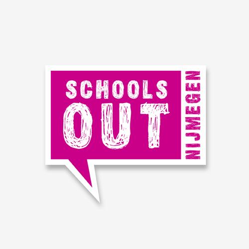Logo Schoolsout   ontwerp logo: Marloes de Laat en Roel Vaessen