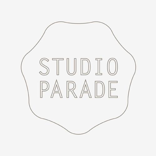 Logo Studio Parade   ontwerp logo: Marloes de Laat en Roel Vaessen