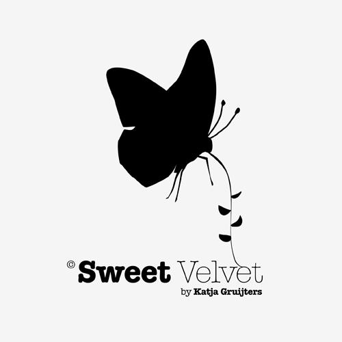 Logo Sweet Velvet   ontwerp logo: Marloes de Laat en Roel Vaessen