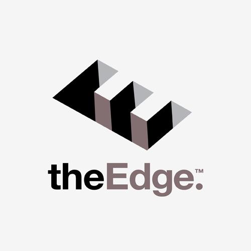 Logo The Edge   ontwerp logo: Marloes de Laat en Roel Vaessen