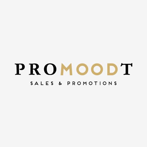 Bedrijfsnaamontwikkeling en logo Promoodt   ontwerp logo:  Marloes de Laat