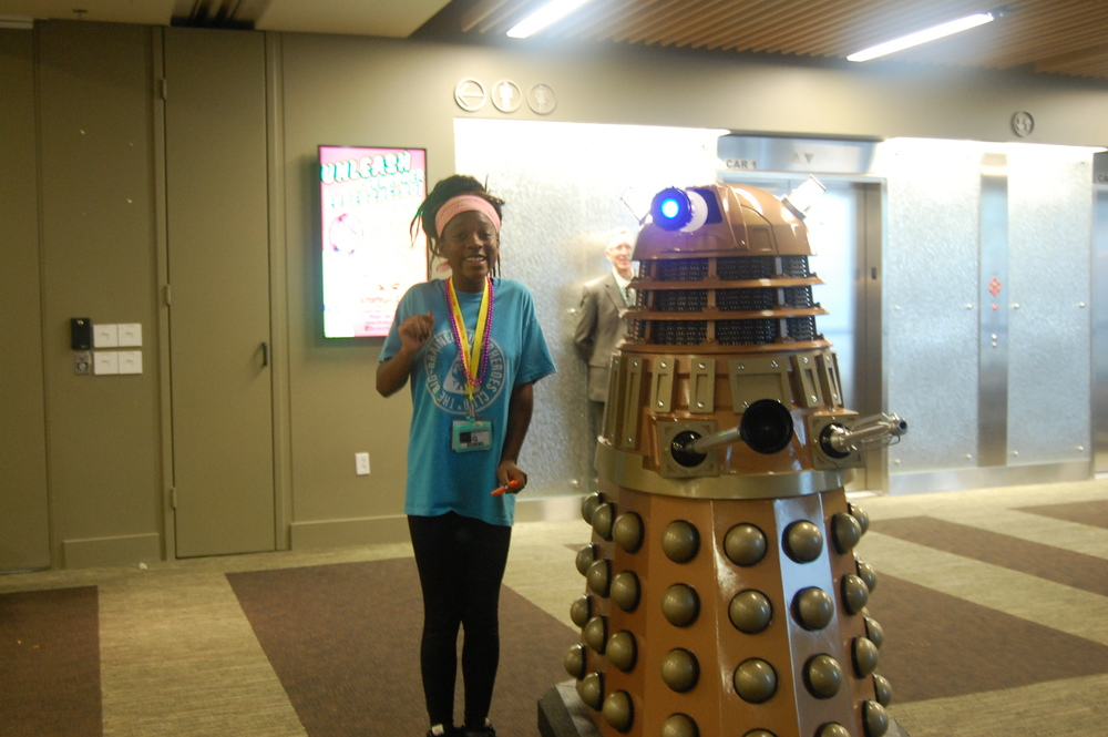 Charleze and the Dalek