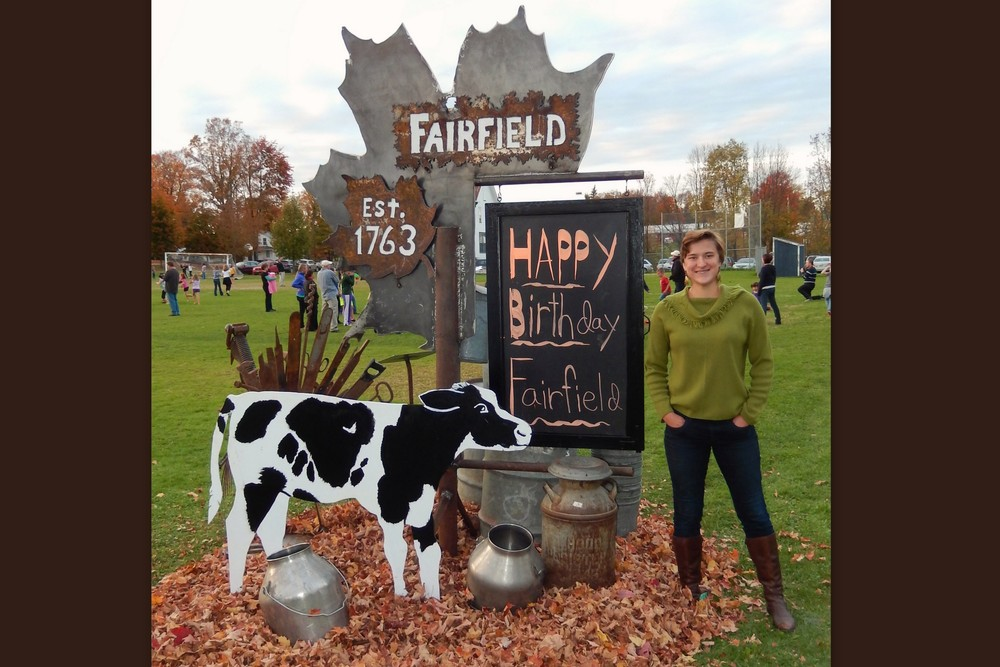 2013 OCTOBER: Fairfield Sign/Message Board