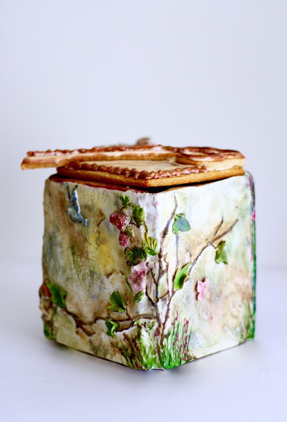 secret garden cookie box by trinidad and tobago's jaime gerard cake
